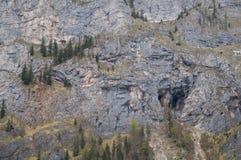 Sheer rock face Stock Image