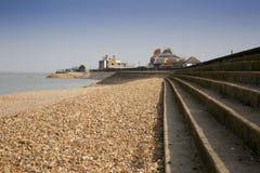 Sheerness strand Arkivbild