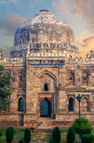 Sheesh Gumbad at early morning in Lodi Garden Monuments. Delhi, India stock images