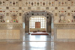 Sheesh Mahal at Amber Fort. Stock Image