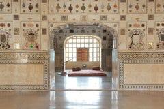 Sheesh Mahal at Amber Fort. stock image