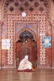 Sheesh Mahal, arvplats, Agra, Indien, 2012, Januari, 1st Arkivbilder