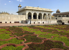 Sheesh Mahal - fortaleza roja - Agra - la India imagenes de archivo