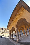 Sheesh Mahal (mirror palace) in Amber Fort, Jaipur Stock Photo