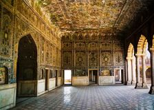 Sheesh Mahal pałac w Lahore forcie, Pakistan Zdjęcie Stock