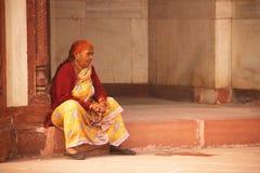 Sheesh Mahal, sito di eredità, Agra, India, 2012, il primo gennaio, Fotografie Stock