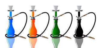 Sheesha vector Royalty Free Stock Photos