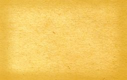 Sheet. Of the old paper which has turned yellow from time. The picture is convenient for drawing on it of the text or images Royalty Free Stock Photo
