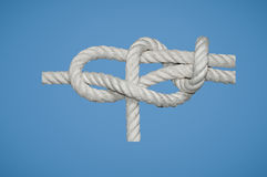 Sheet Bend Double Knot Stock Images