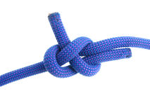 Sheet bend knot Stock Image