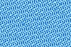 Sheet of binary codes on blue  background Stock Photo