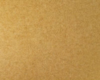 Sheet of brown paper useful as a background Stock Images