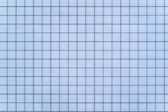 Sheet of checkered paper Stock Photos