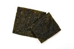 Sheet of dried seaweed Stock Photo
