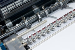 Sheet feeder close up Stock Image