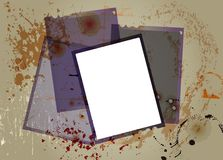 Sheet film negatives,. Picture frames, free copy space, grungy vector Stock Photos