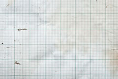 Sheet of graph paper Royalty Free Stock Image