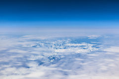 Sheet of ice floating on the arctic  ocean Royalty Free Stock Image