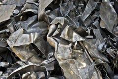 Sheet Metal. Used and thrown Sheet metals waiting their way to garbage stock photos