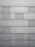 Sheet metal with dots and pits Royalty Free Stock Photos