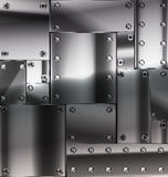 Sheet of metal Stock Photography
