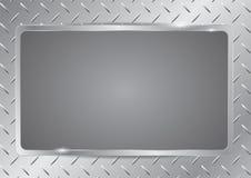 Sheet metal pattern Stock Images