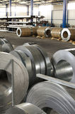 Sheet metal rolls Stock Photography