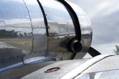 Sheet Metal Skin Of A Plane Royalty Free Stock Image