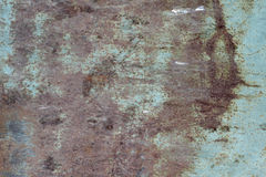 Sheet metal with traces of corrosion  background Royalty Free Stock Photos