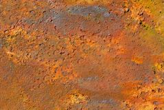 Sheet of Metal Turned to Rust for your Copy or Background royalty free stock photography
