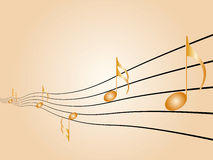 Sheet music Royalty Free Stock Image