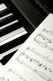 Sheet Music Stock Photos