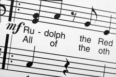Sheet music Royalty Free Stock Photo