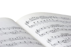 Sheet of music Royalty Free Stock Image