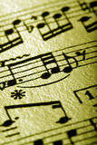 Sheet Music Royalty Free Stock Photo