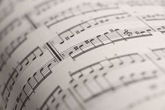 Sheet music 2 Royalty Free Stock Images