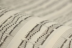 Sheet music 4 Royalty Free Stock Image