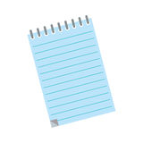 Sheet note paper. Icon  illustration graphic design Royalty Free Stock Image