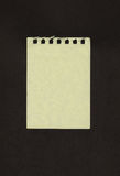 Sheet of notebook Royalty Free Stock Photos