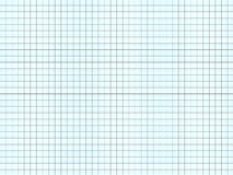 Sheet of notepad, white-blue background Stock Photos