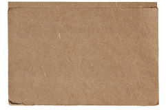 Sheet of old paper Royalty Free Stock Photography