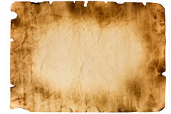 Sheet of old paper Royalty Free Stock Image