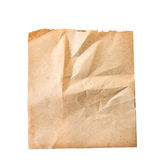 Sheet of old paper isolated. On a white background Royalty Free Stock Photos