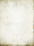 Sheet of old, soiled paper background Royalty Free Stock Image