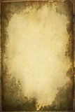 Sheet of old, soiled paper background Royalty Free Stock Photos