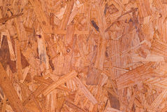 Sheet of OSB Lumber for Backgrounds Stock Photo