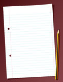 Sheet of Paper Royalty Free Stock Image