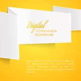 Sheet of paper. Royalty Free Stock Photography