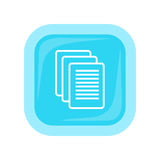 Sheet Paper Icon Royalty Free Stock Images