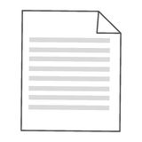 sheet of paper with lines Stock Photography